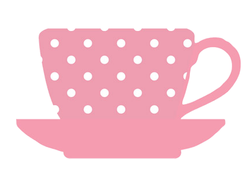 Tea cups clipart.