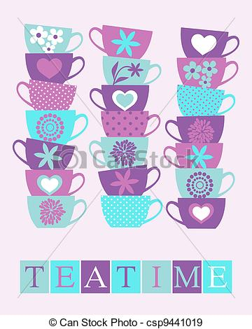 Teacup Clipart and Stock Illustrations. 6,568 Teacup vector EPS.