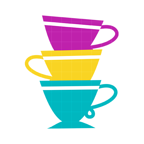 Stack Tea Cup Clipart.