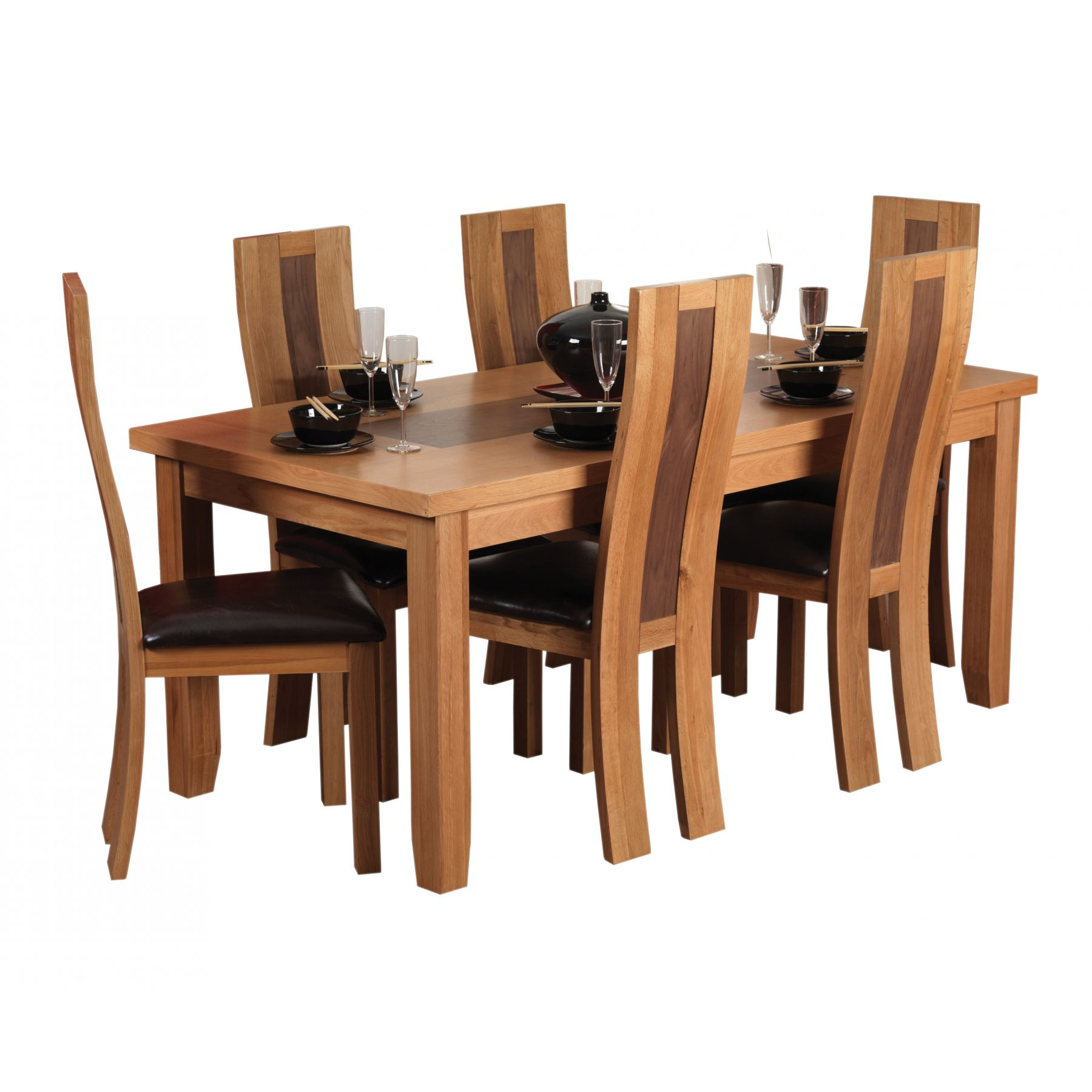 Dining Table and Chairs Clip Art.
