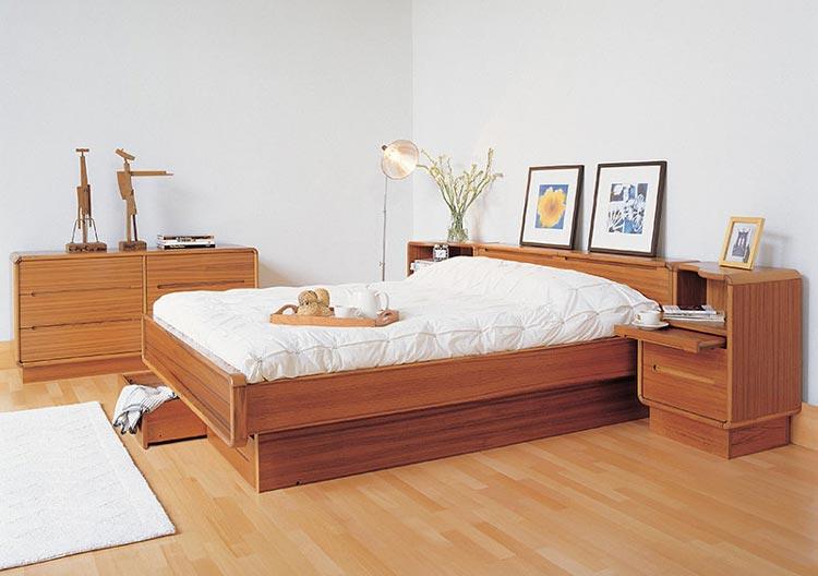teak bedroom furniture.