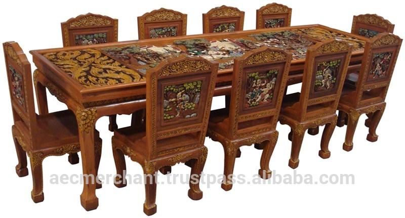 Teakwood Dining Room Table