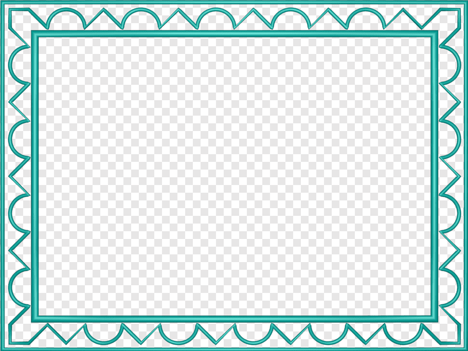 Teal frames, Indian New Years days New Year card Wish, Aqua.