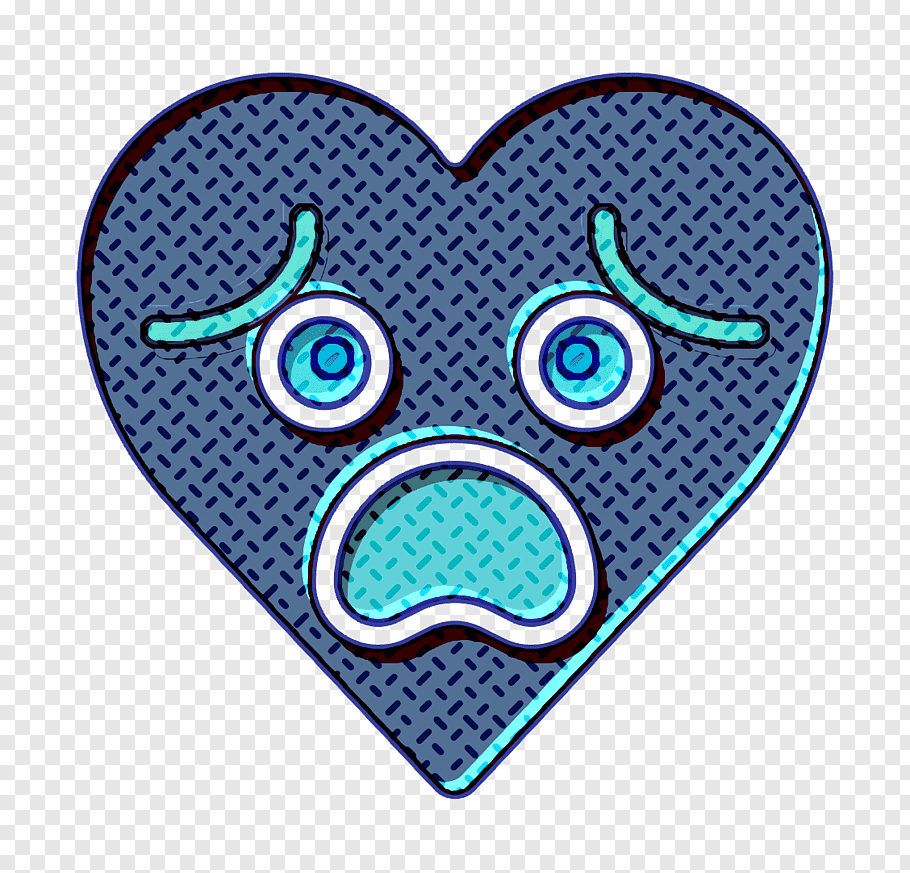Disappointed icon emoji icon emotion icon, Fail Icon, Heart.
