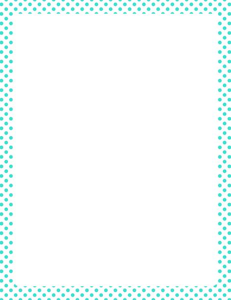 Download Teal Border Frame Clipart HQ PNG Image.