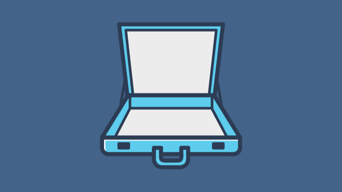 Briefcase Open Type.