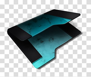 Blue Empty Folder Icon, (O) BLUE Empty Folder x , black and.