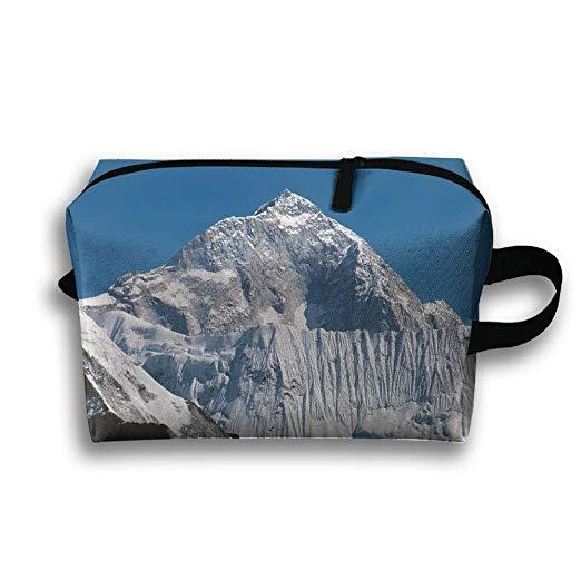 Amazon.com: Snow Mountains Clipart Art Travel Bag Cosmetic.