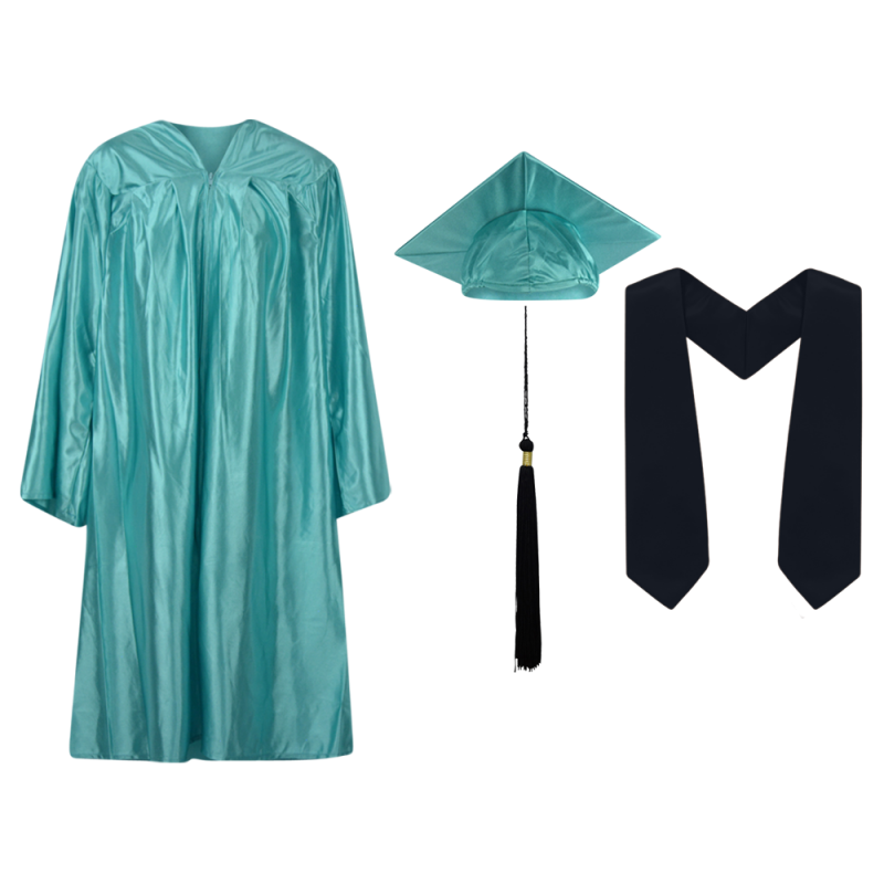 cap and gown, cap gown and tassel, graduation, stole,.