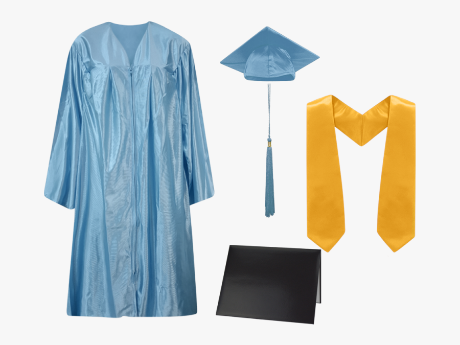 Graduation Gowns Caps And Tassels , Free Transparent Clipart.