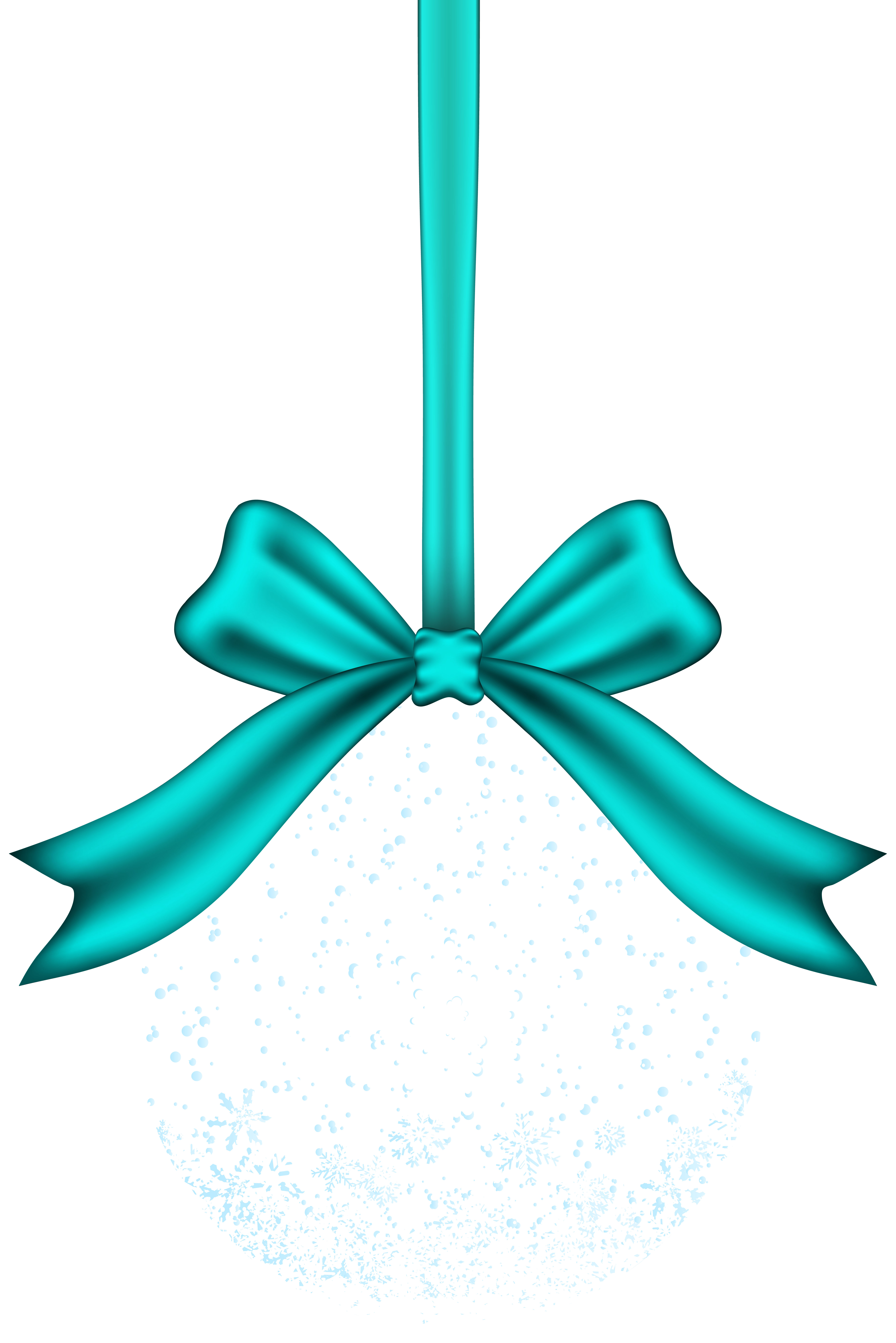 Transparent Christmas Ball PNG Clip Art.