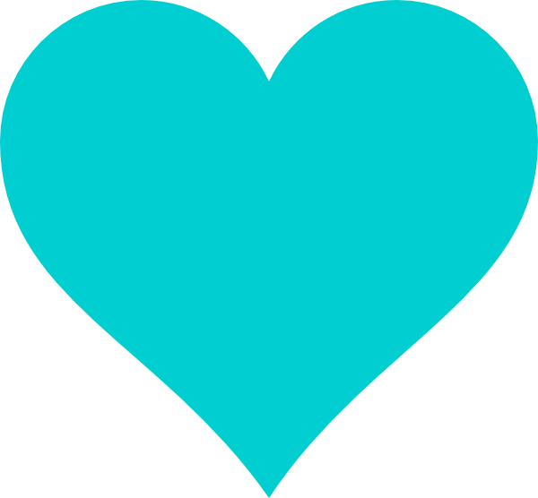 Teal Clipart.