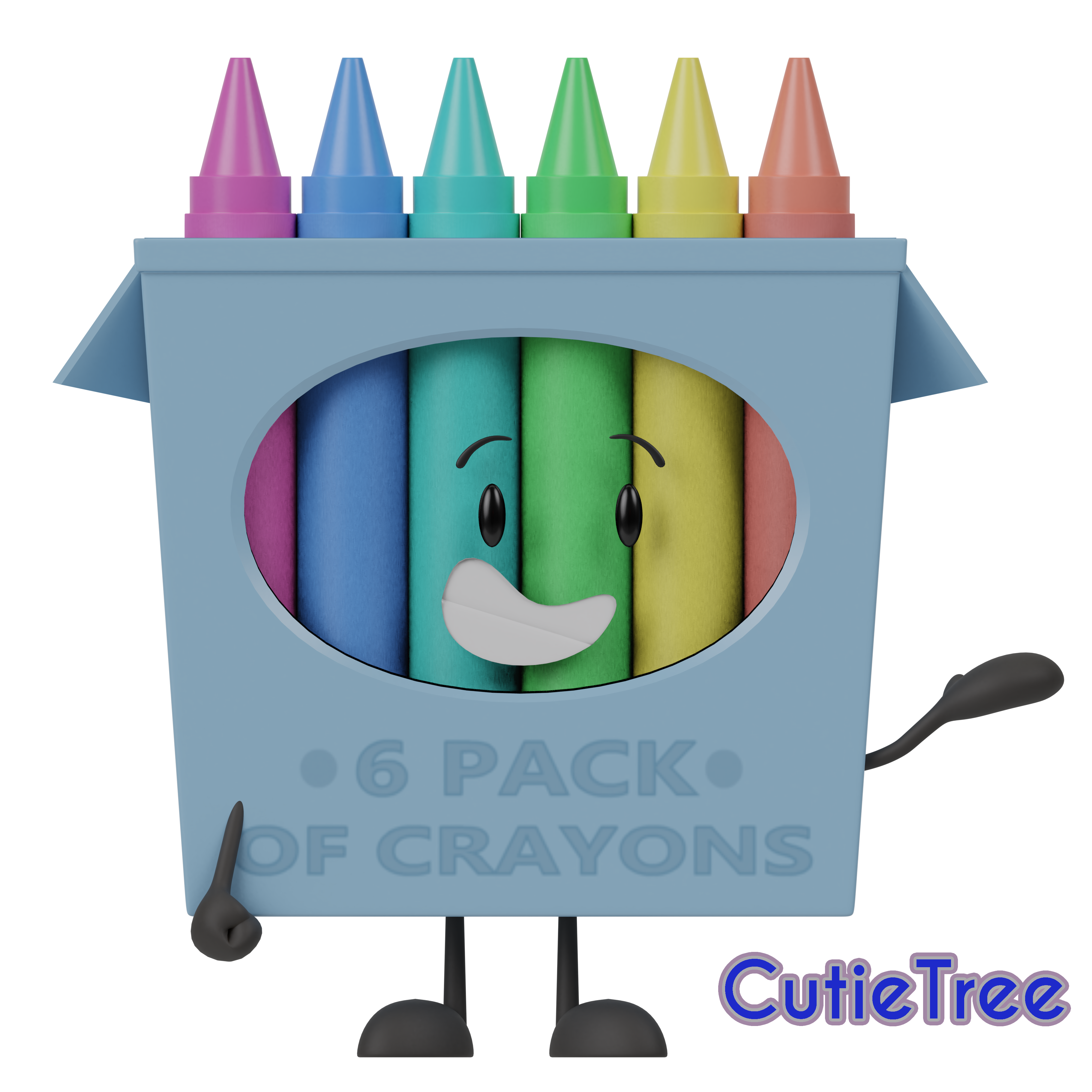 Crayons clipart box 16, Crayons box 16 Transparent FREE for.