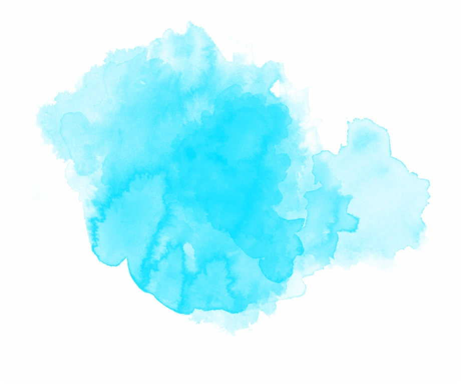 Watercolor Watercolour Ftestickers Paint Blue.