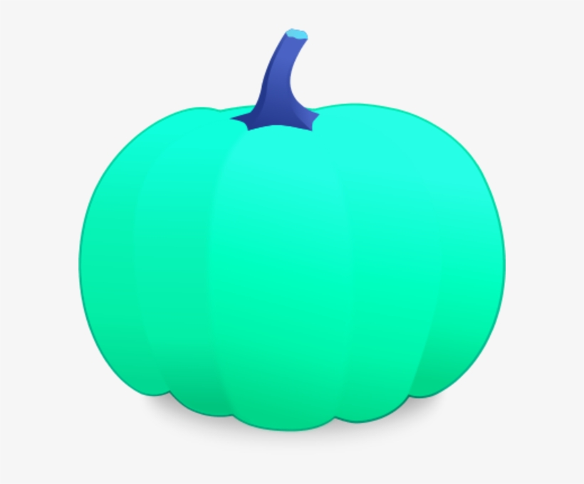 28 Collection Of Teal Pumpkin Clipart.