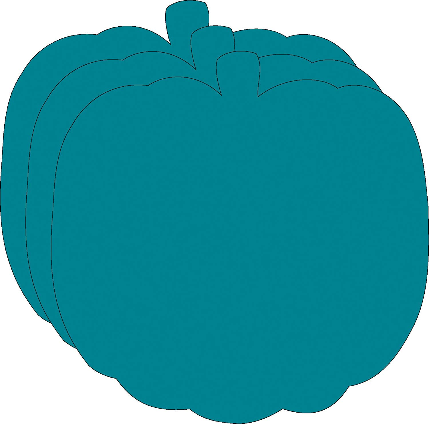 Teal Pumpkin Large Creative Cut.