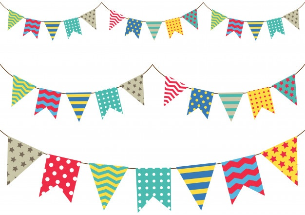 Bunting Vectors, Photos and PSD files.