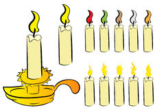 Tealights Stock Illustrations.