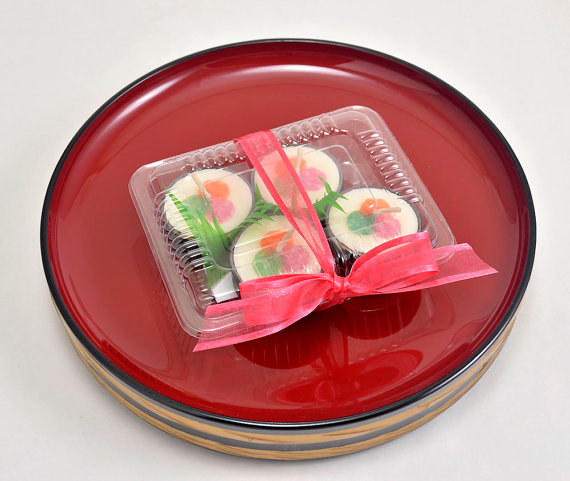 Candle Decoration Faux Food Sushi Tea Light Candles Sushi by.
