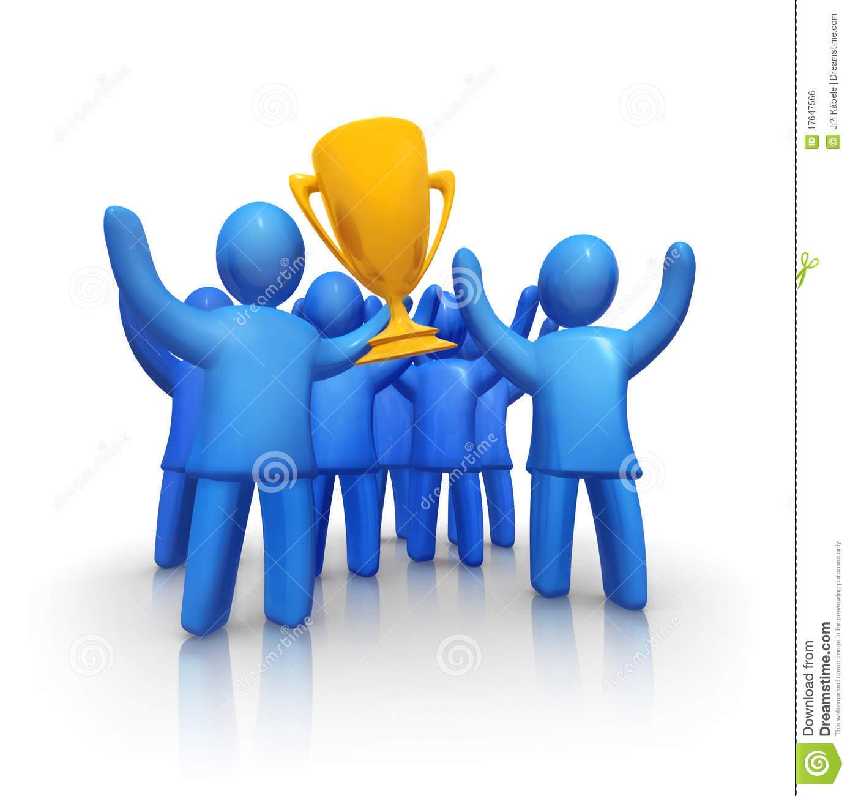 Team Achievement Clipart.