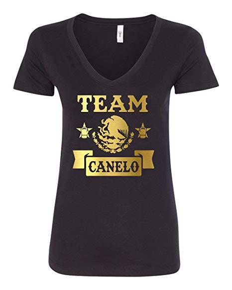 Amazon.com: Freedomtees Team Canelo Mexico Boxing Women\'s T.