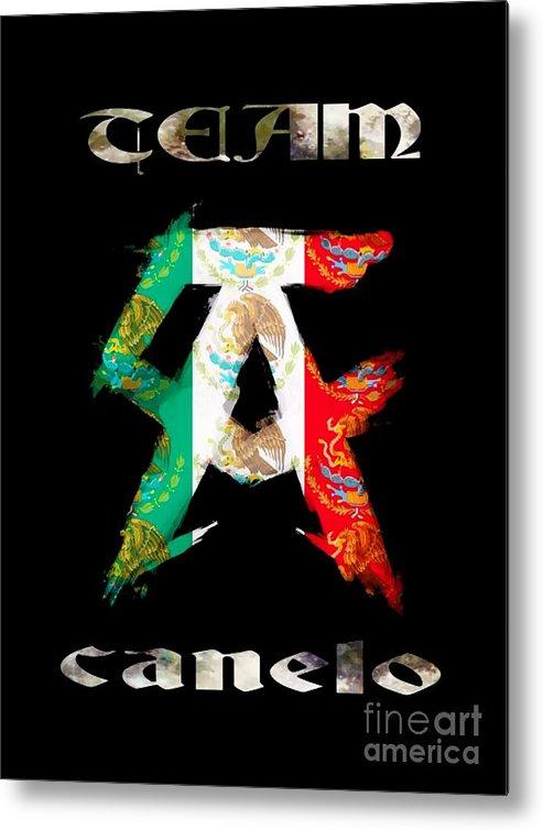 Team Canelo Metal Print.