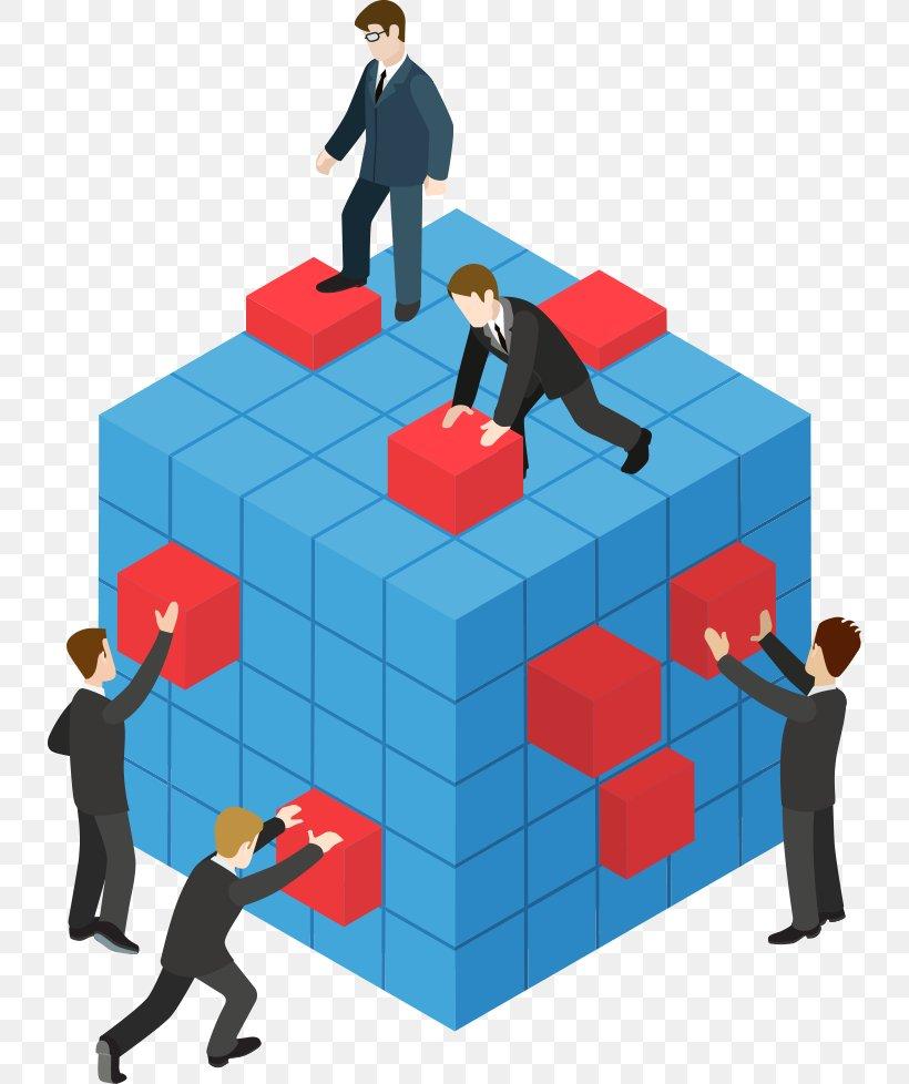 Teamwork Illustration, PNG, 734x978px, Teamwork, Business.