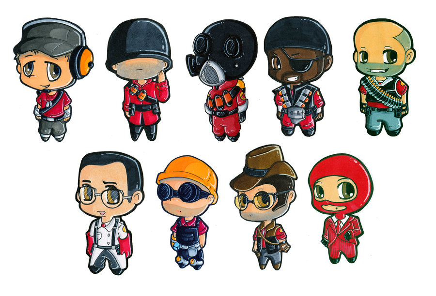 Team Fortress 2 Soldier Chibi by Martinic on DeviantArt.