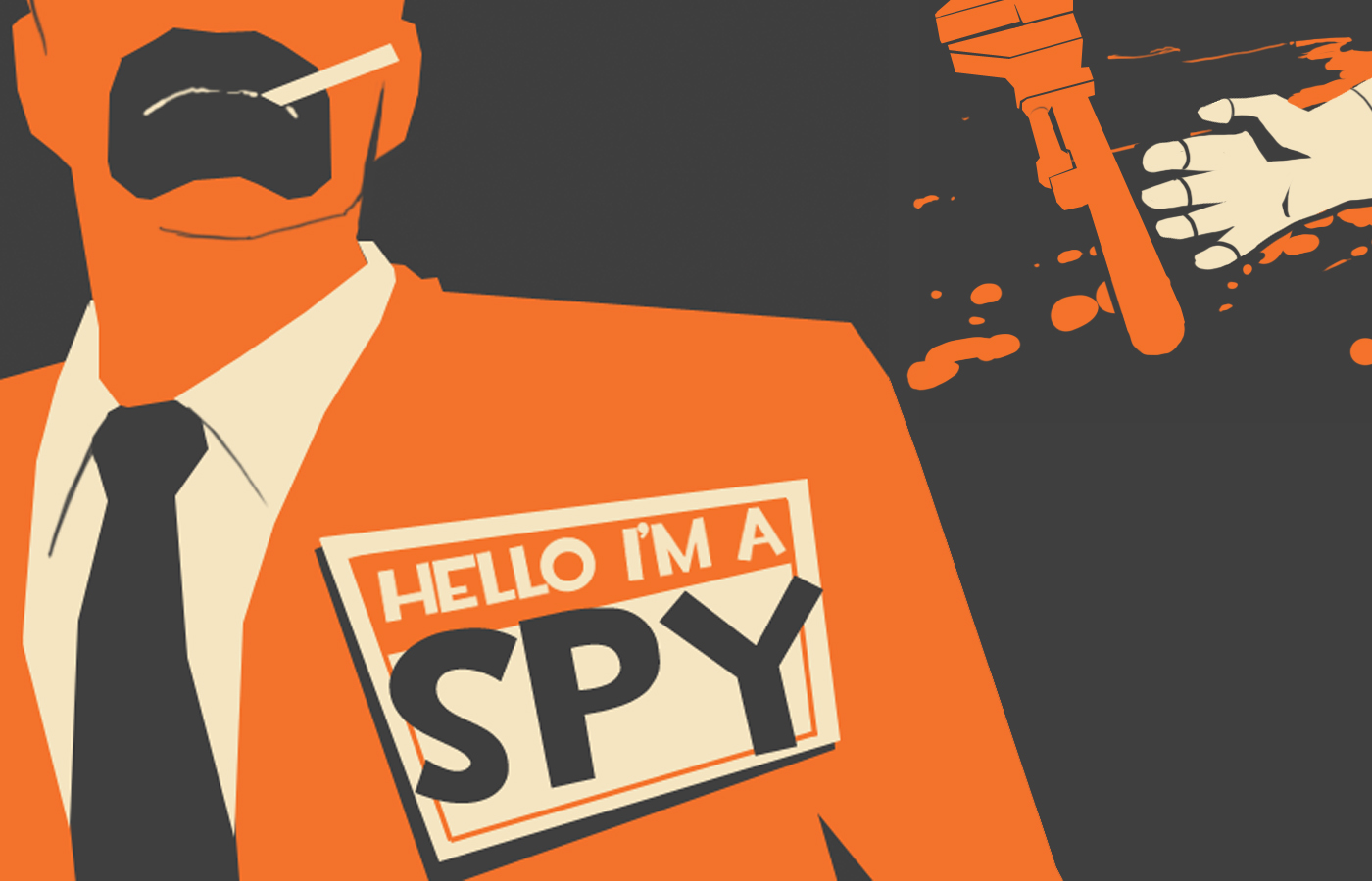 Team Fortress 2 Spy Clipart.