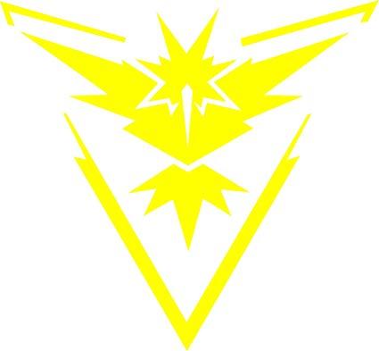 Amazon.com: Team Instinct ( Yellow) Pokemon GO Inspired.