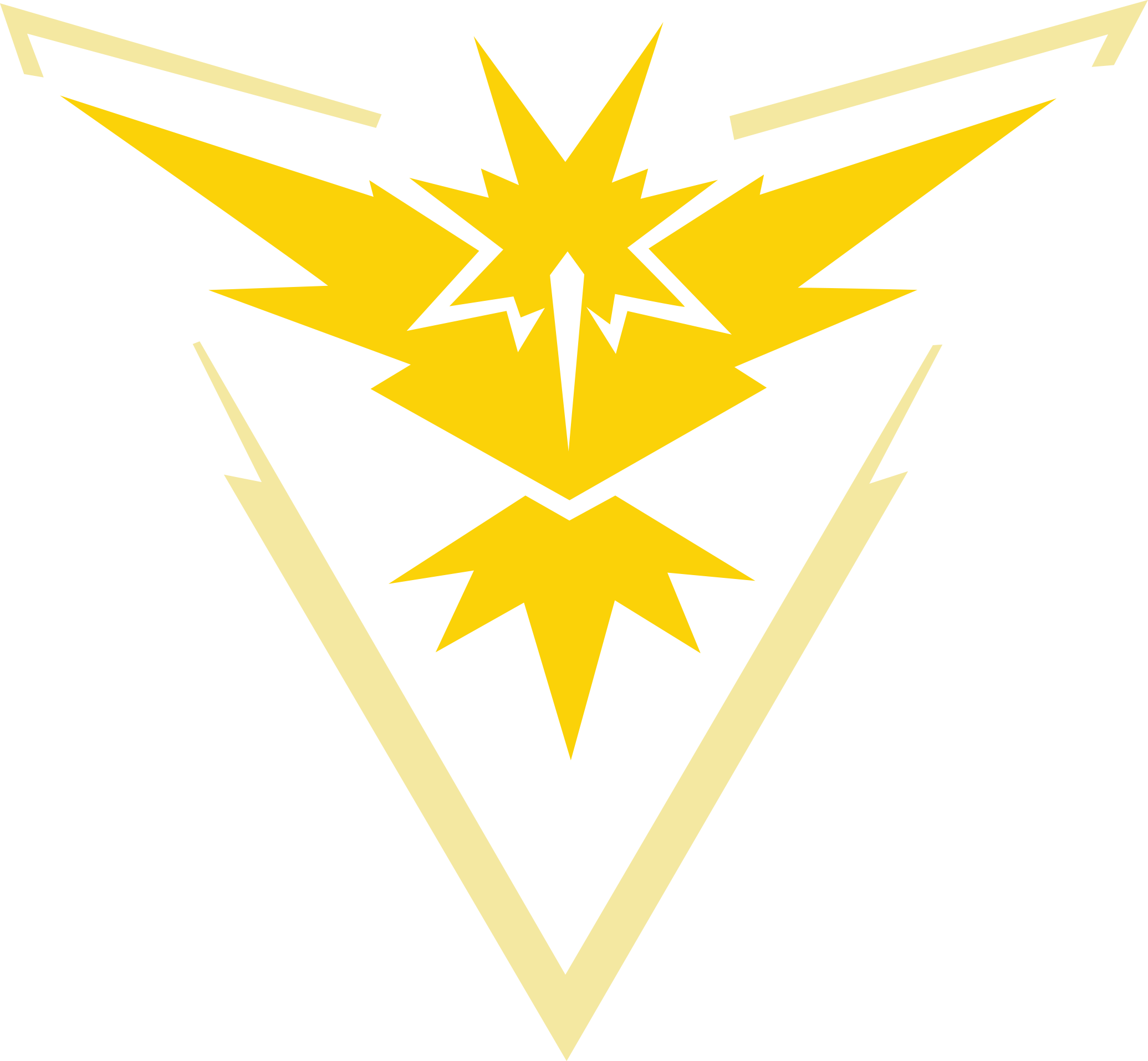 All Pokemon GO Team Logos.