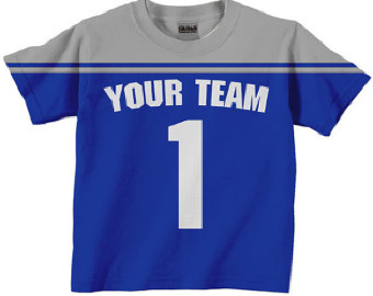Team jersey day clipart.