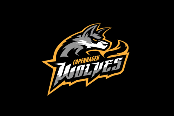 Wolf Logo Design for Sports Team.