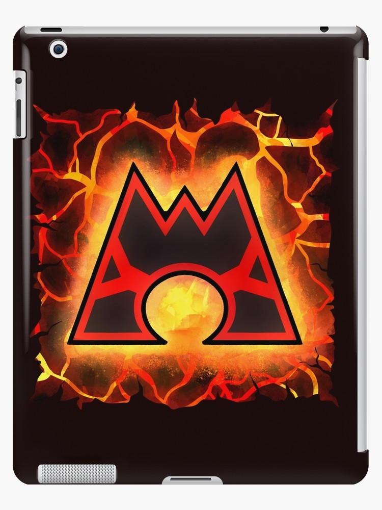 \'Team Magma Logo\' iPad Case/Skin by webchow.