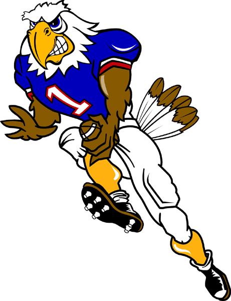 Eagle Mascot Clipart.