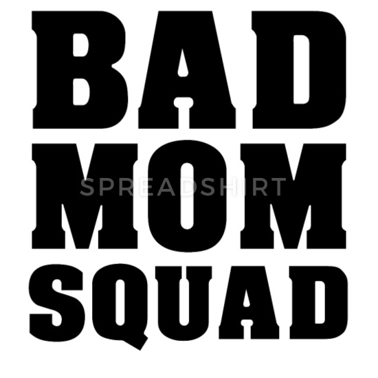 Bad mothers squad team mom mothers day Baby Bib.