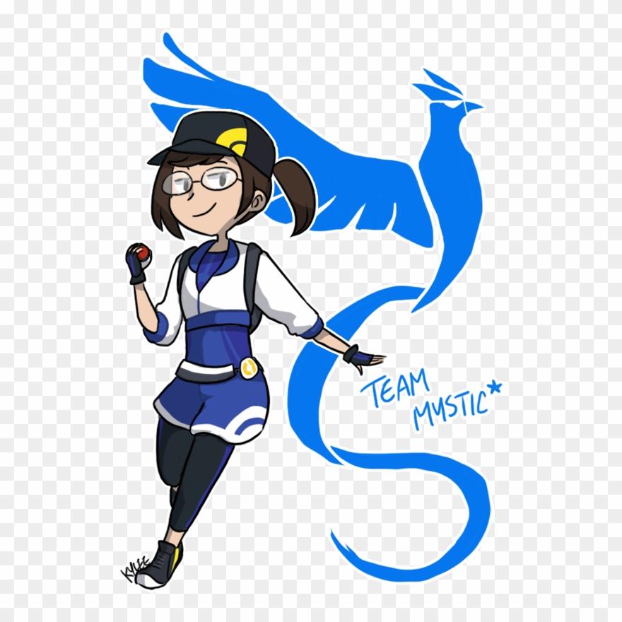 Pokemon Go Team Mystic Tho By Ky Nim.