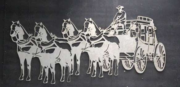 4 Horse Stagecoach : SignTorch, Turning images into vector cut paths..