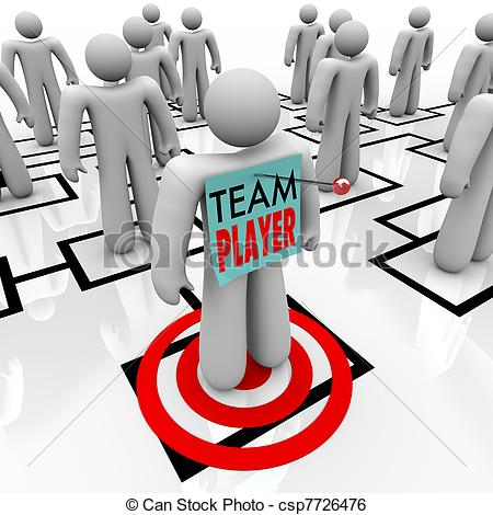 Team player clipart » Clipart Station.