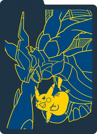 Sun & Moon Team Up Pikachu & Zekrom Card Dividers (From the Elite Trainer  Kit).