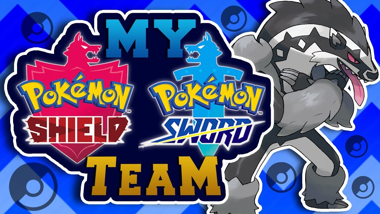 My Pokemon Sword and Shield Team.