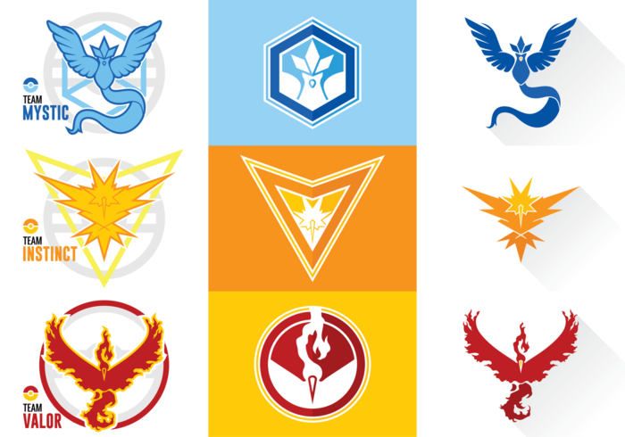 Pokemon Go Teams.