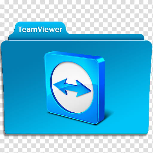 TeamViewer Folder Icon, TeamViewer Folder Icon v transparent.