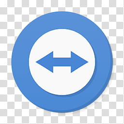 Numix Circle For Windows, teamviewer icon transparent.