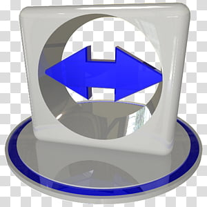 White and blue icon set , teamviewer blue, blue arrow icon.