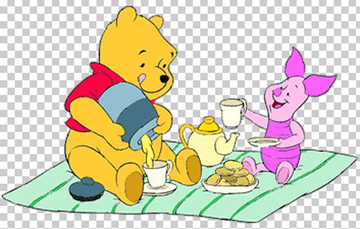 Winnie The Pooh Piglet Eeyore Tigger Christopher Robin PNG.
