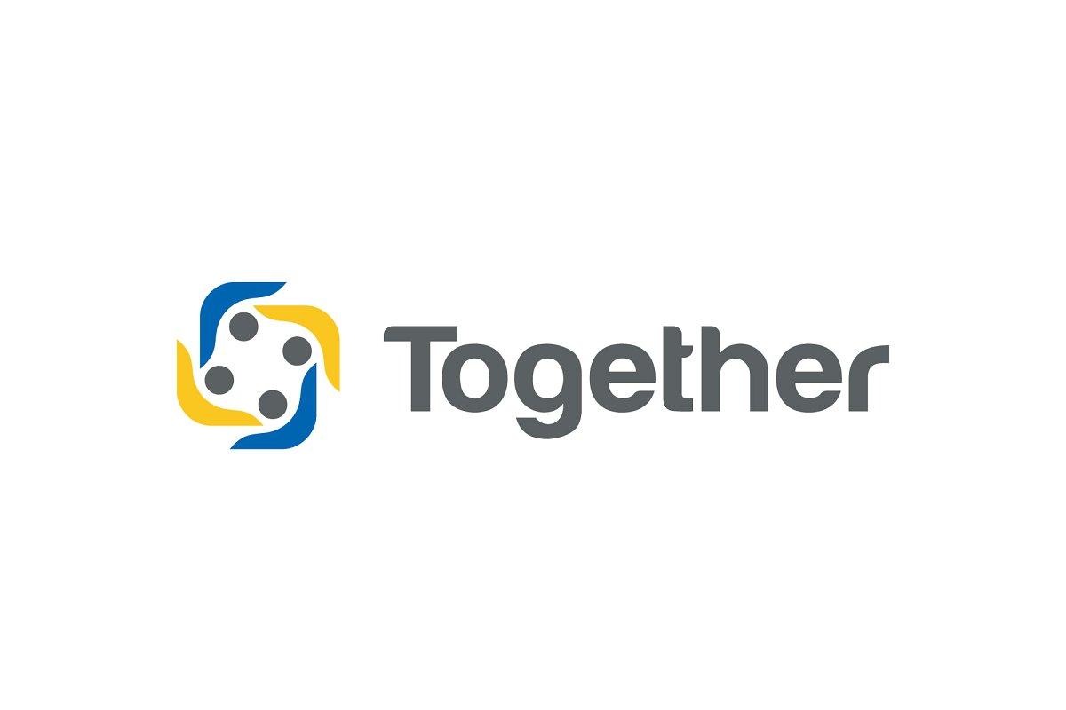 Creative Teamwork Logo Design.