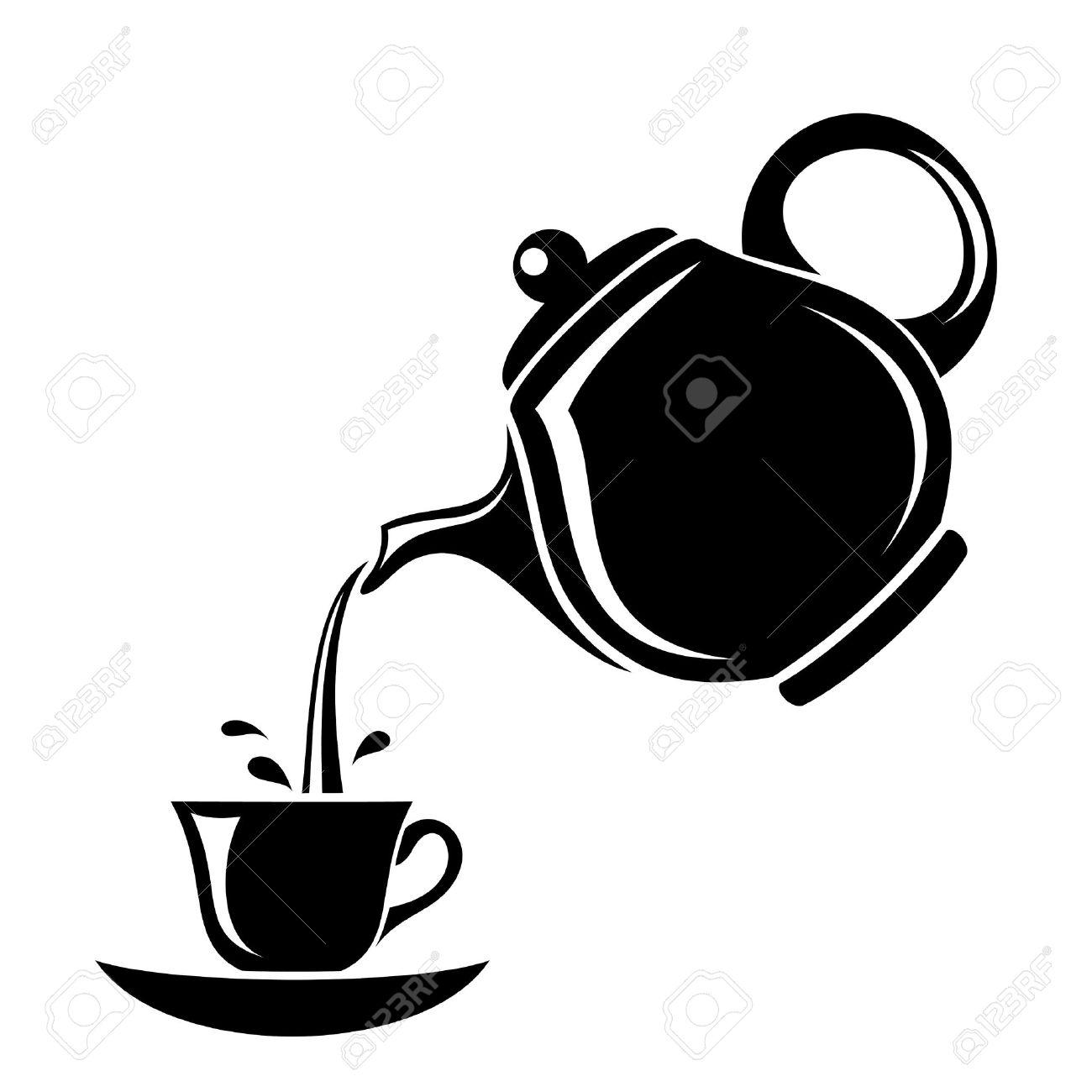 1130 Teapot free clipart.
