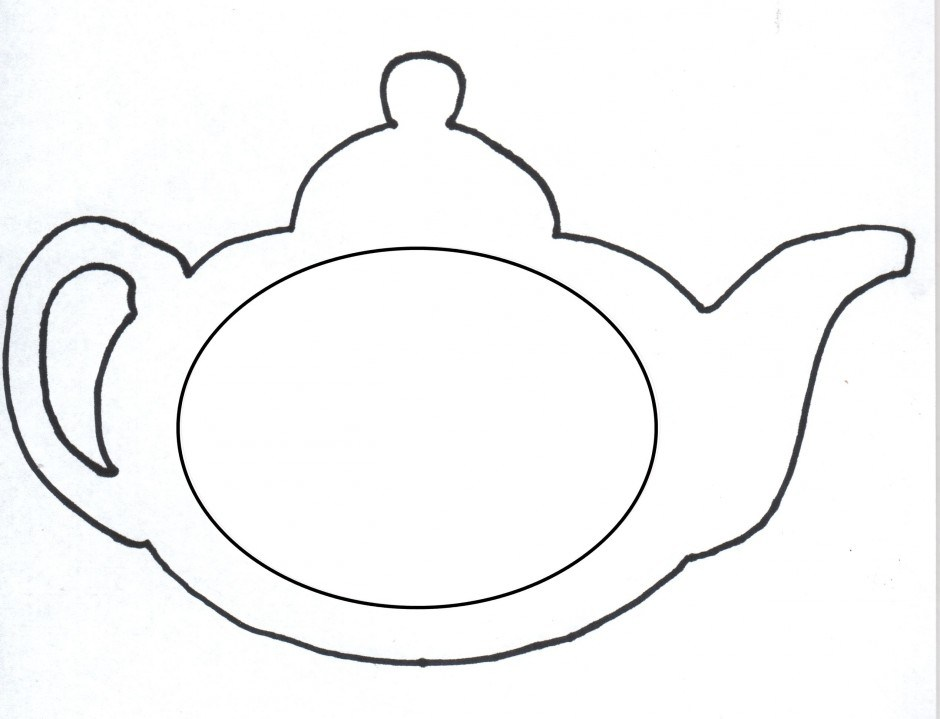 Teapot clipart black and white 1 » Clipart Portal.