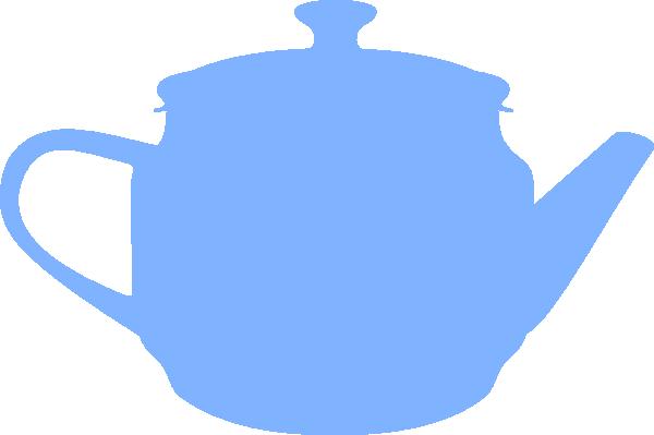 Teapot Silhouette Clip Art at Clker.com.